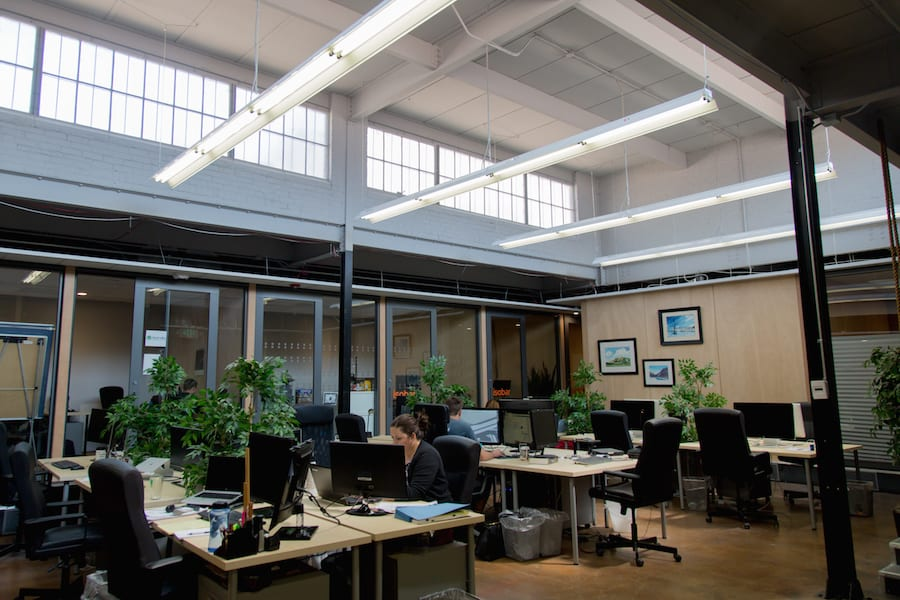 Thrive co-working space in Denver