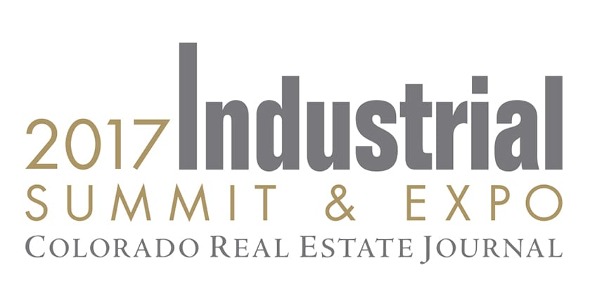 Logo for the CREJ Colorado Real Estate Journal 2017 Industrial Summit & Expo