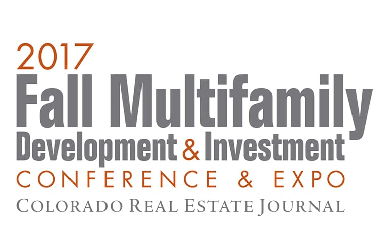 Logo for theCREJ Colorado Real Estate Journal 2017 Fall Multifamily Development & Investment Conference & Expo