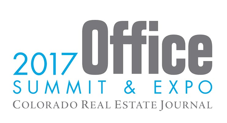 Logo for the CREJ Colorado Real Estate Journal 2017 Office Summit & Expo