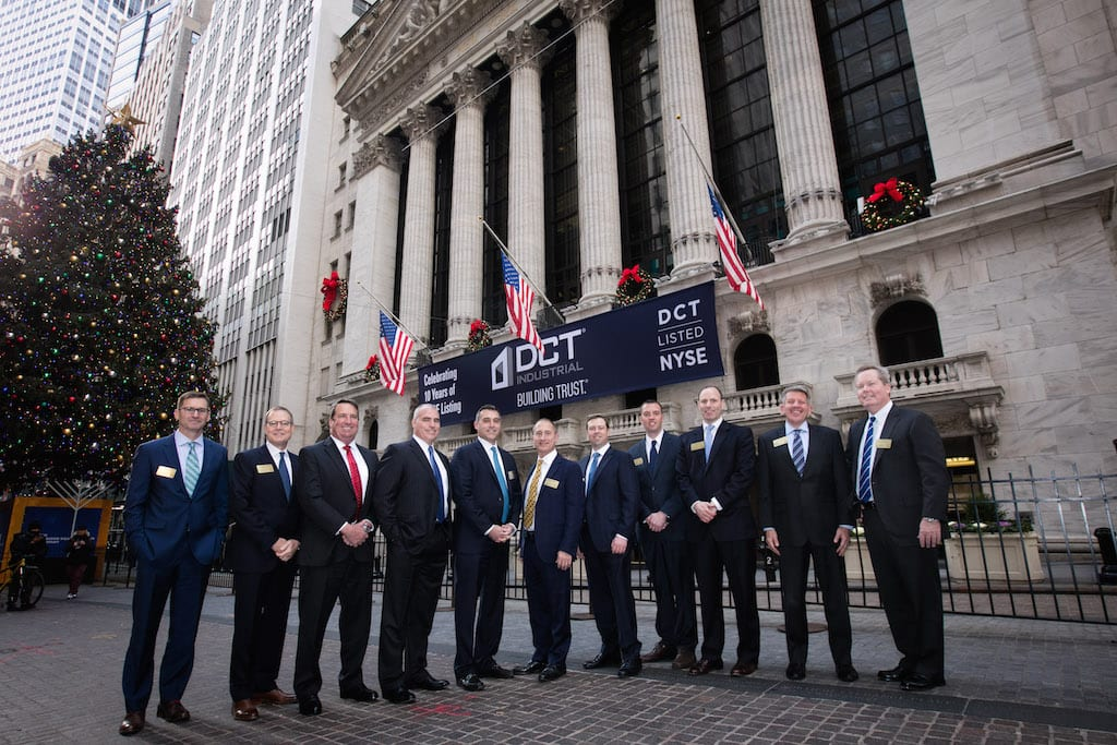 DCT Industrial market leaders