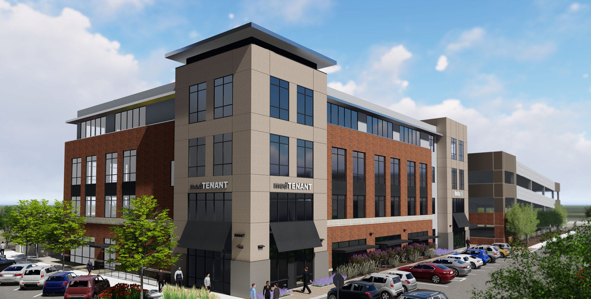 Sawtooth development group broke ground april 4 on superior medical a four story 60000 square foot multitenant medical office building at three superior