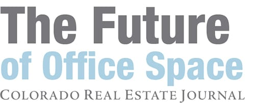 Logo for the CREJ Colorado Real Estate Journal The Future of Office Space Conference