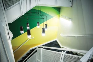 populous stairwell