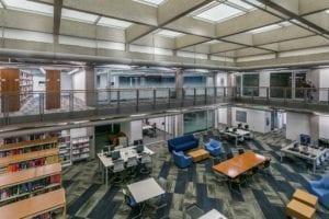 tutt library interior