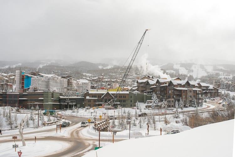 one snowmass crane