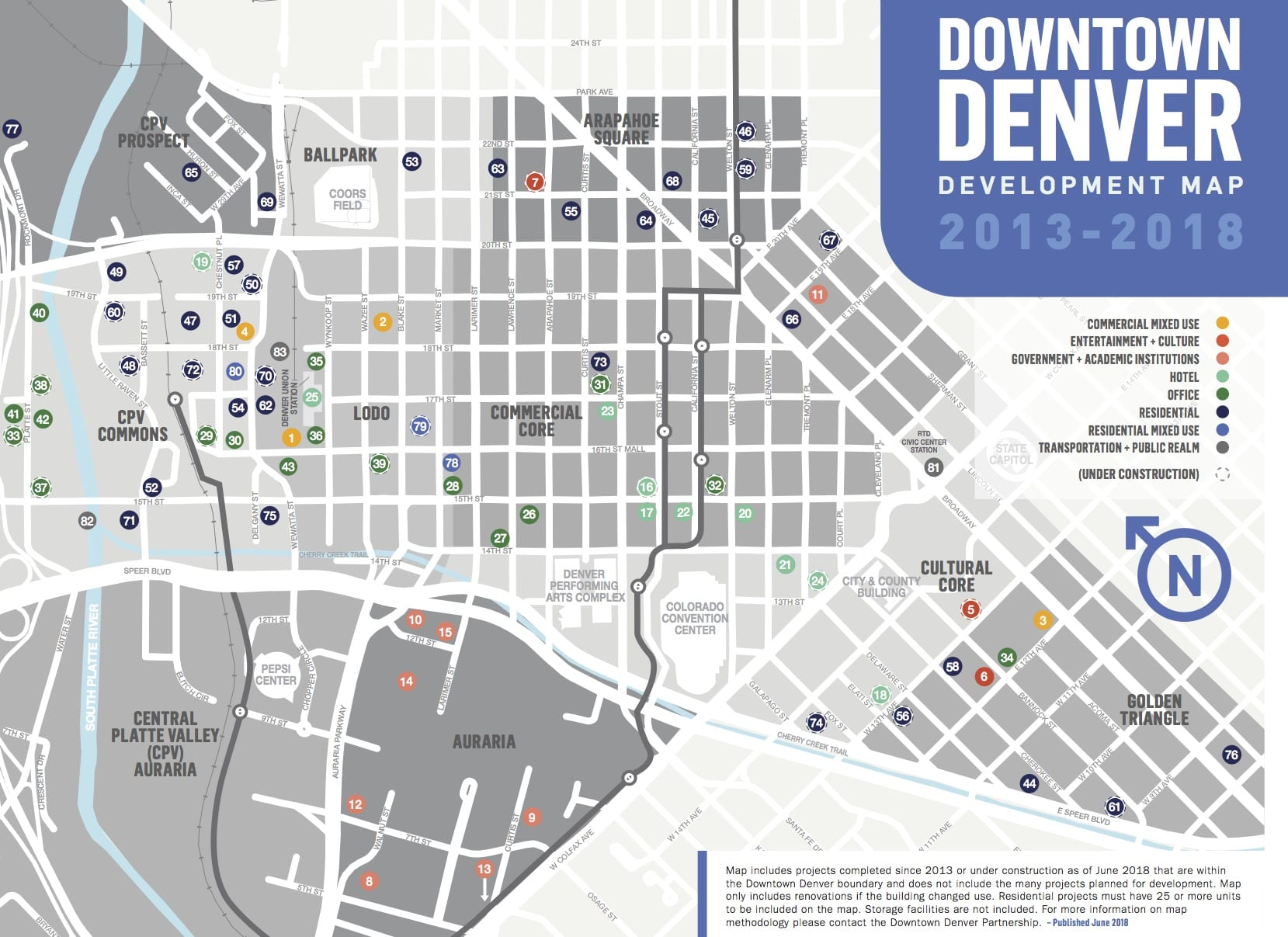 Denver sees more than $5 billion in 83 development projects ... on
