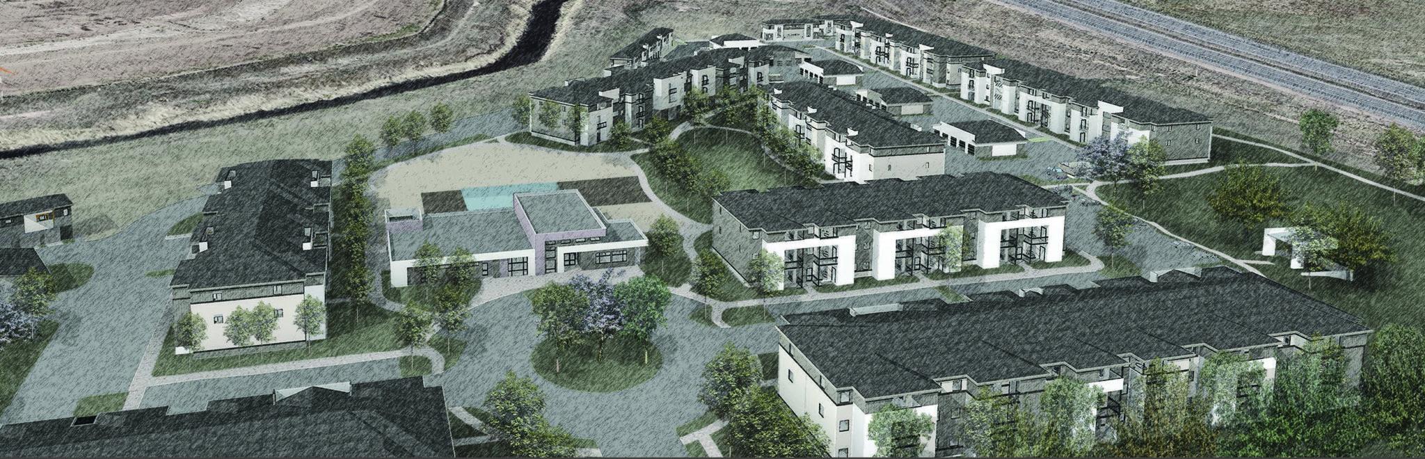 Luxury Apartments Break Ground On Harmony Corridor