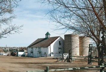 Church Ranch barn