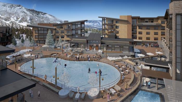 snowmass plaza