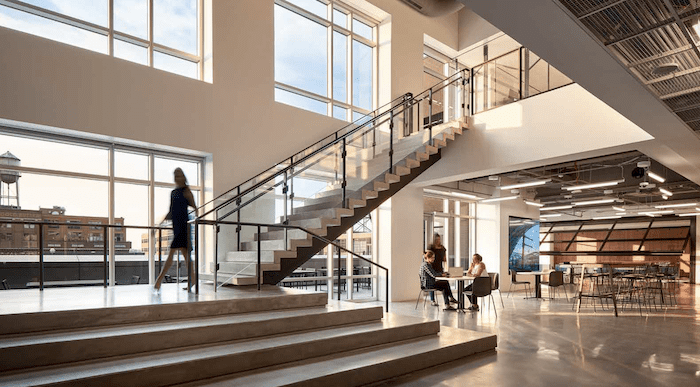 prologis stairs