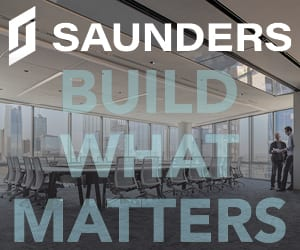 Saunders Construction March 2020 Banner 300 x 250